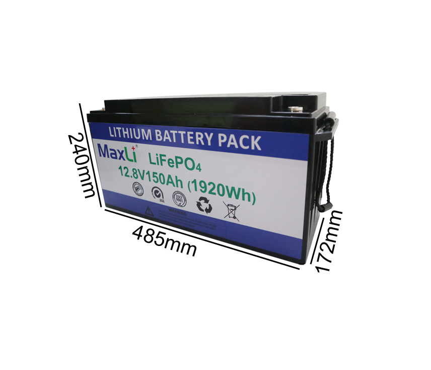 12V 150Ah Deep Cycle Battery
