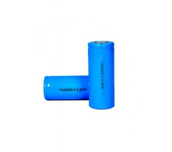 LiFePO4 cell Cylindrical cell 26650 3600mAh