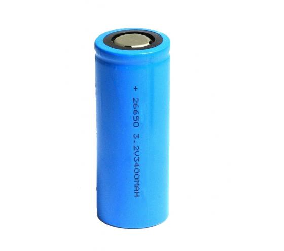 LiFePO4 cell Cylindrical cell 26650 3400mAh