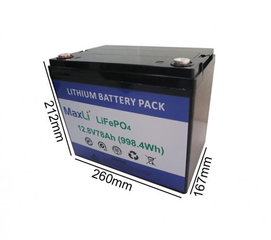 12V 78Ah Deep Cycle Battery