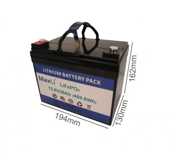 12V 36Ah Deep Cycle Battery