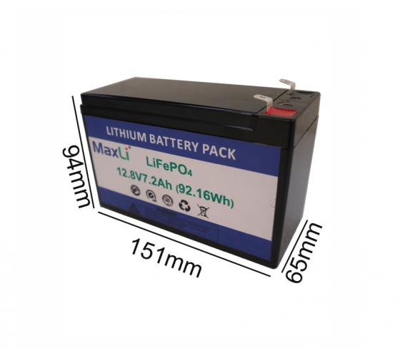 12V 7.2Ah Deep Cycle Battery
