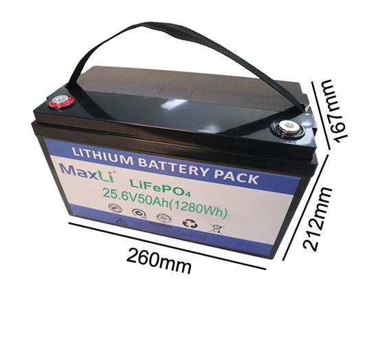 24V 50Ah Deep Cycle Battery