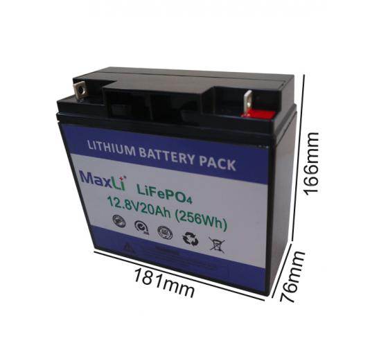12V 20Ah Deep Cycle Battery